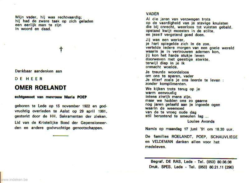 Omer Roelandt