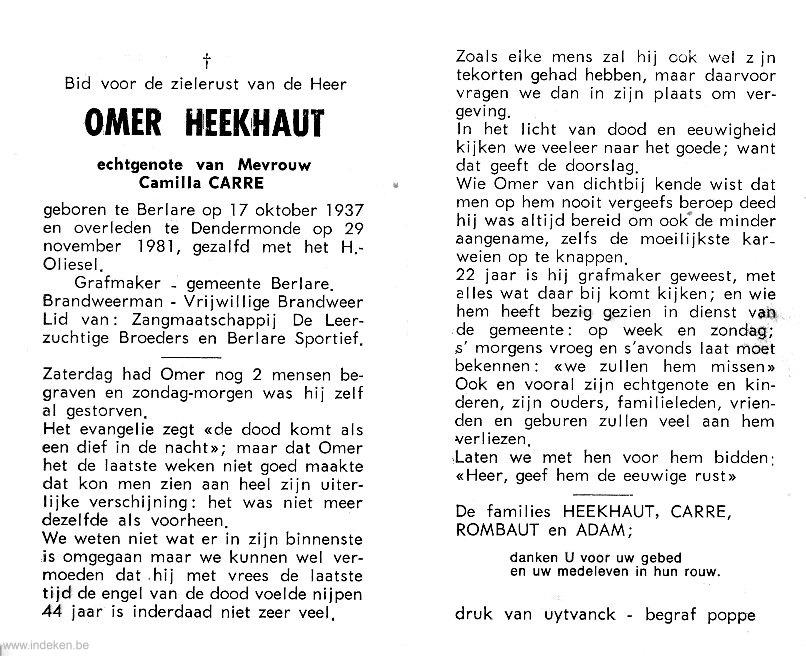 Omer Heekhaut