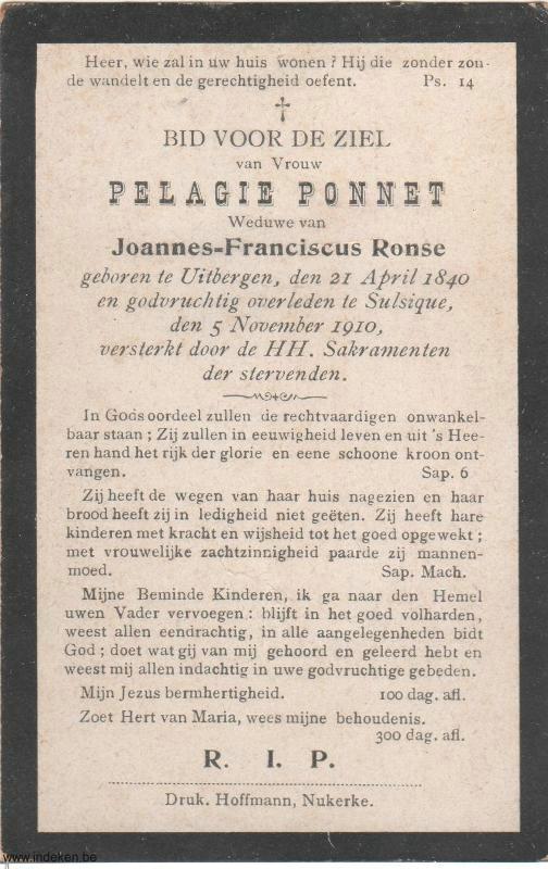 Pelagie Ponnet