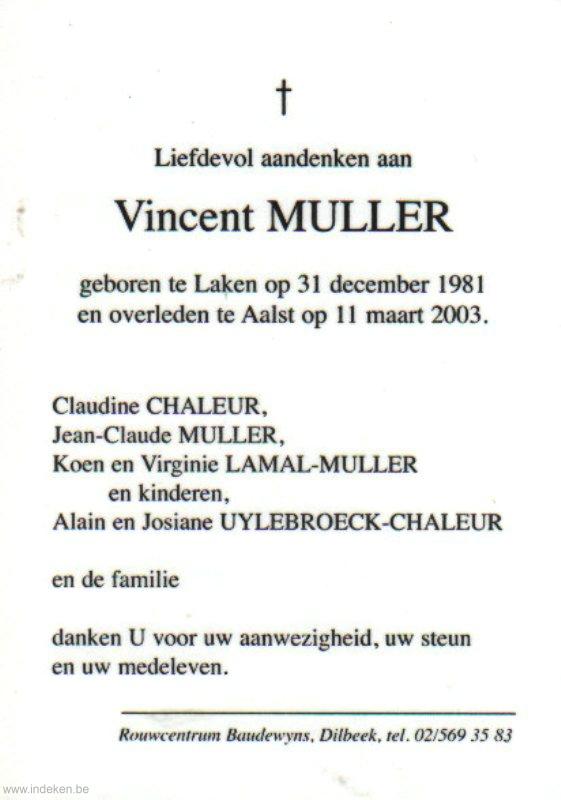 Vincent Muller