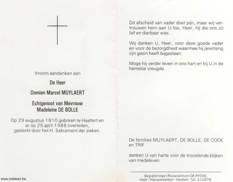 Domien Marcel Muylaert