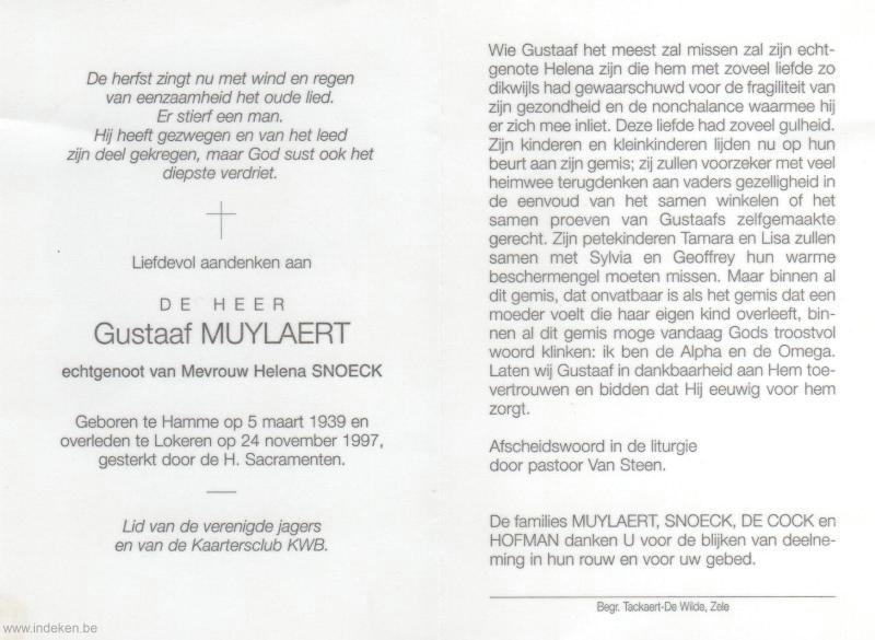Gustaaf Muylaert