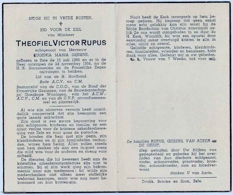 Theofiel Victor Rupus