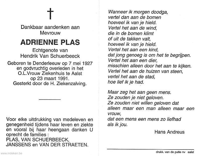 Adrienne Plas