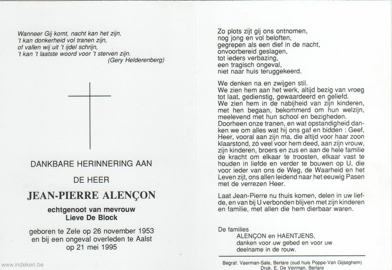 Jean Pierre Alençon