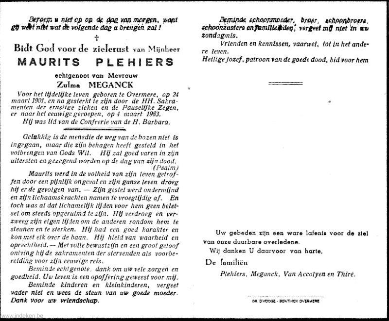 Maurits Plehiers