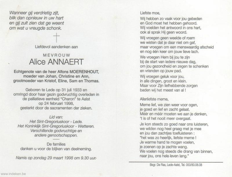 Alice Annaert