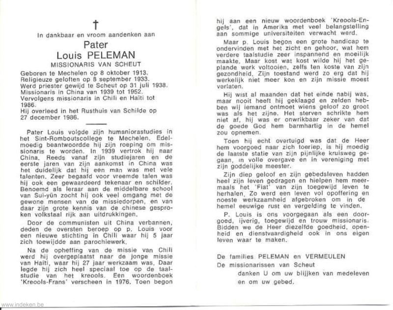 Louis Peleman