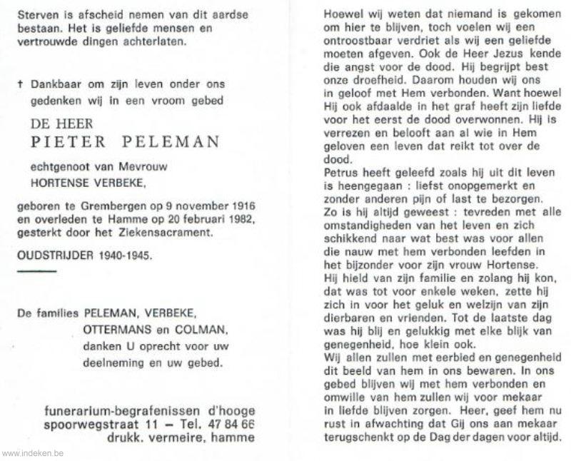 Pieter Peleman