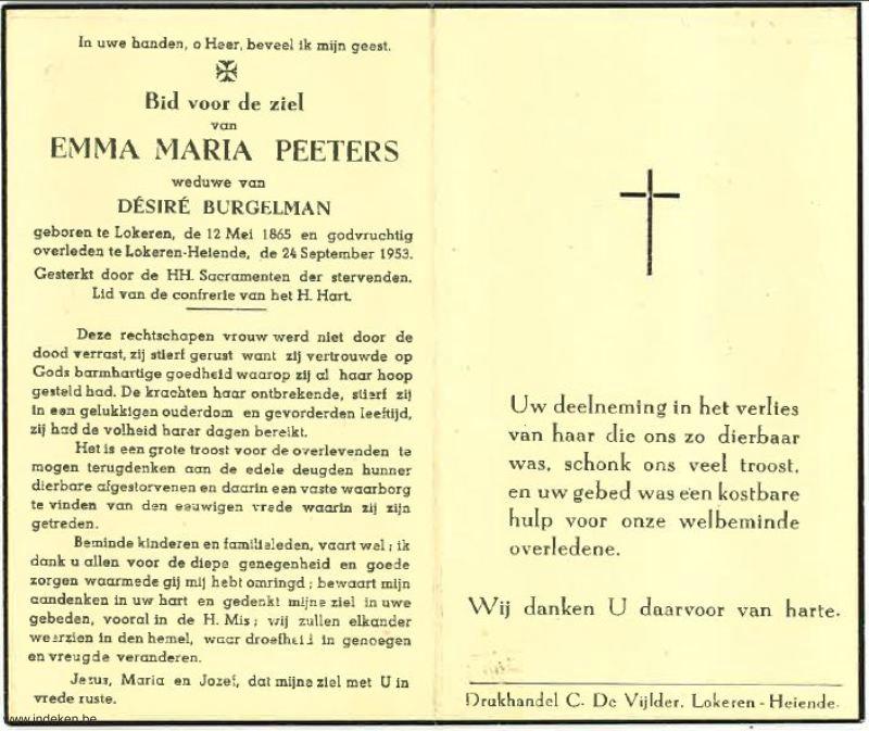 Emma Maria Peeters