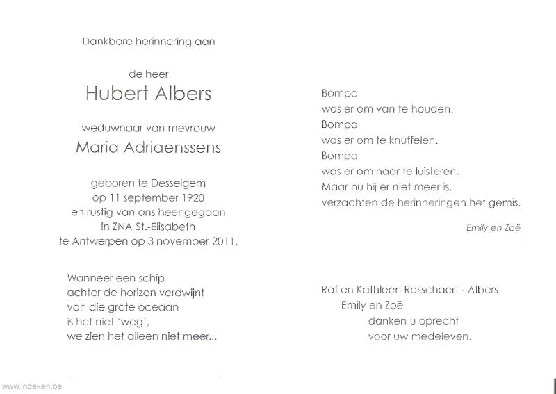Hubert Albers