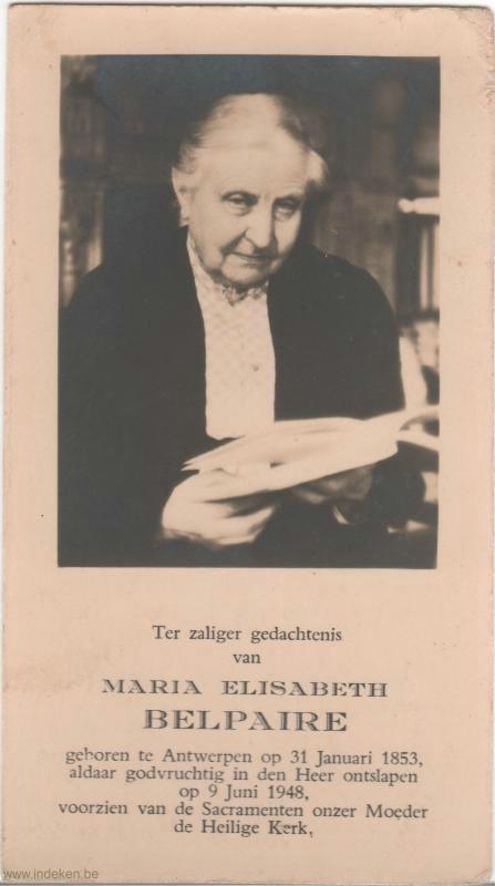 Maria Elisabeth Belpaire