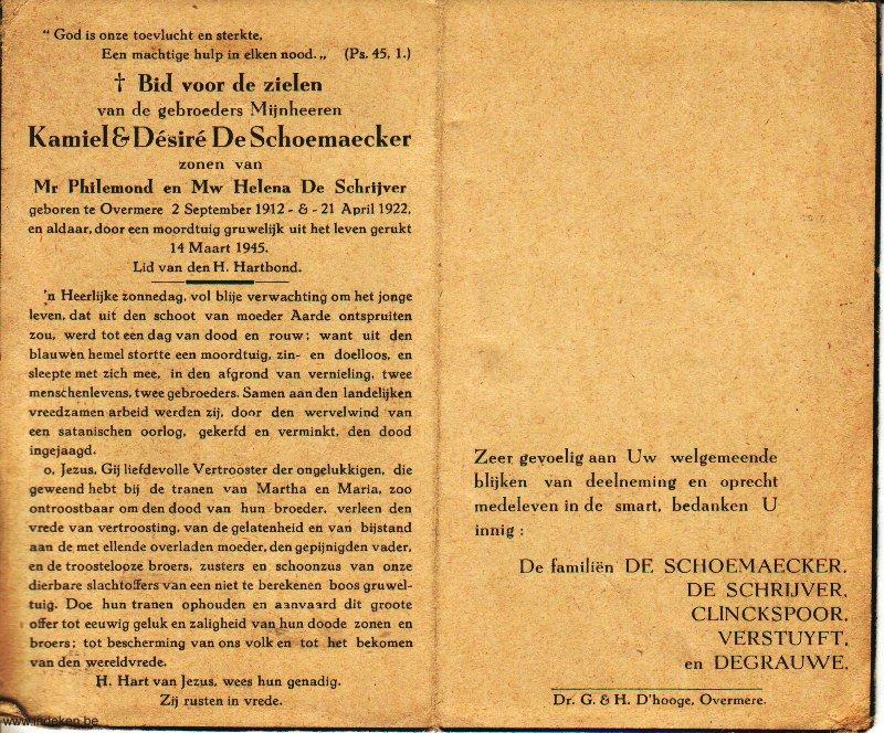 Désiré De Schoemaecker