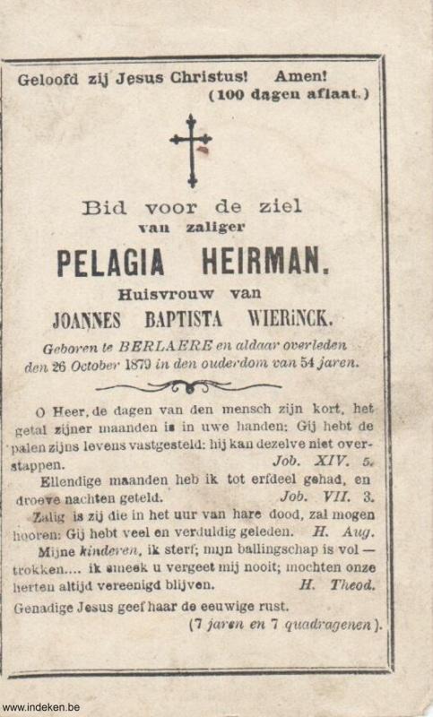 Pelagia Heirman