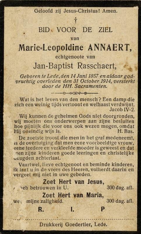 Marie Leopoldine Annaert