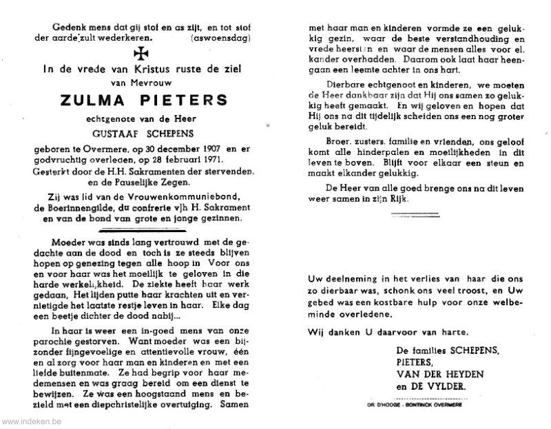 Zulma Pieters