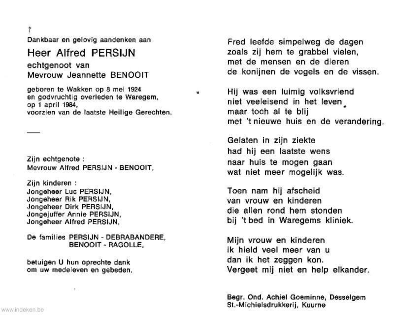 Alfred Persijn