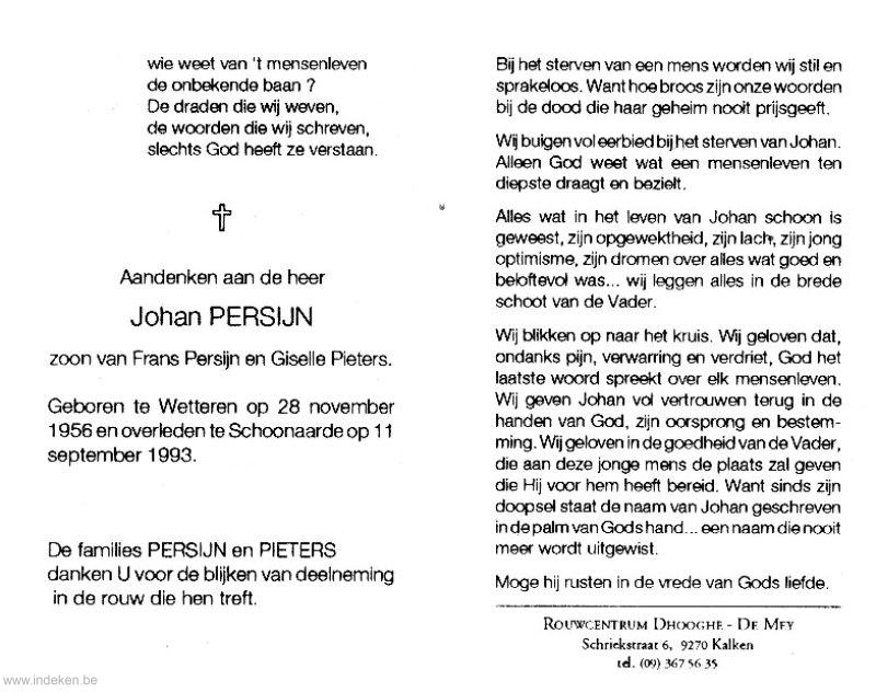 Johan Persijn