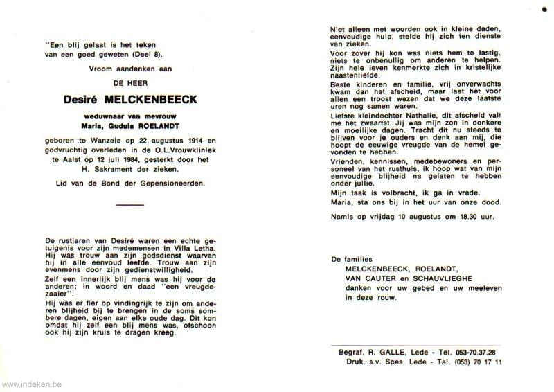 Desiré Melckenbeeck