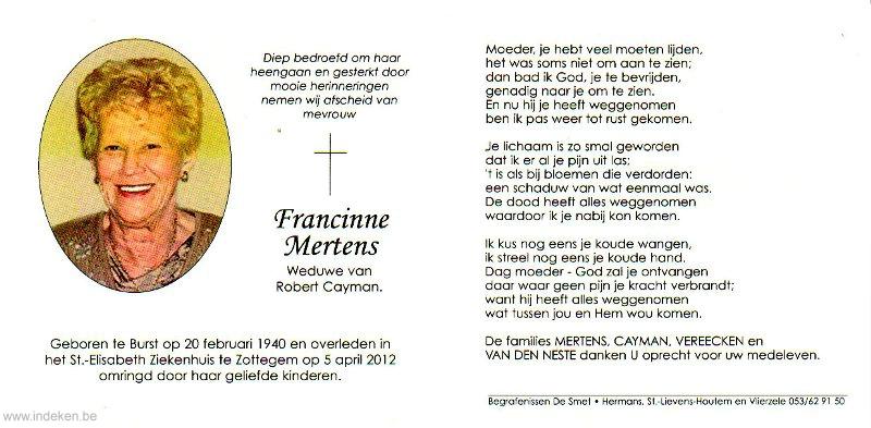 Francinne Mertens