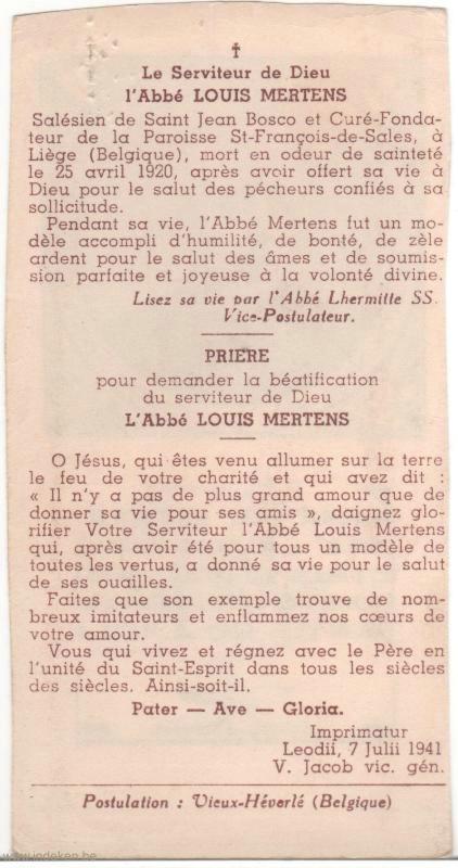 Louis Marie François Mertens