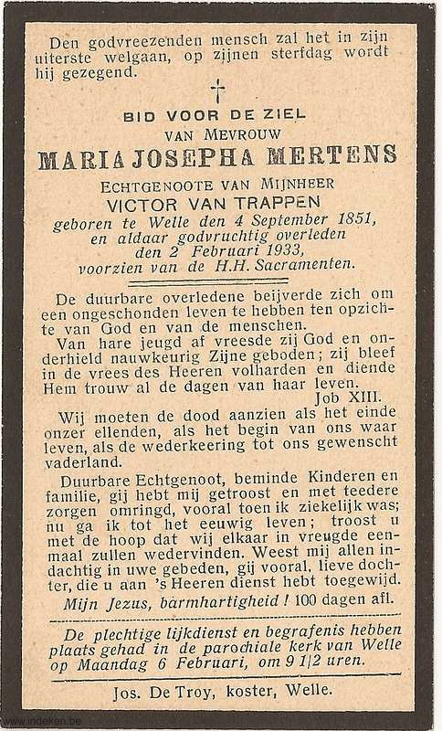 Maria Josepha Mertens