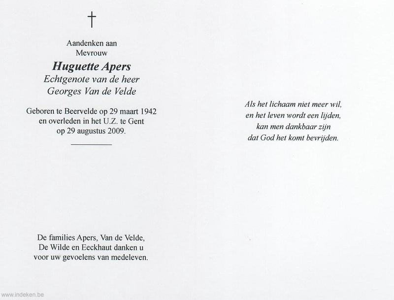 Hugette Apers