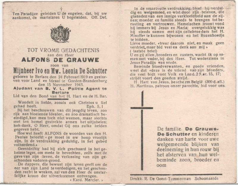 Alfons De Grauwe
