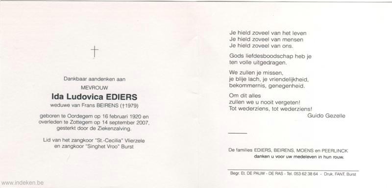 Ida Ludovica Ediers
