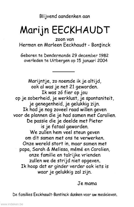 Marijn Eeckhaudt