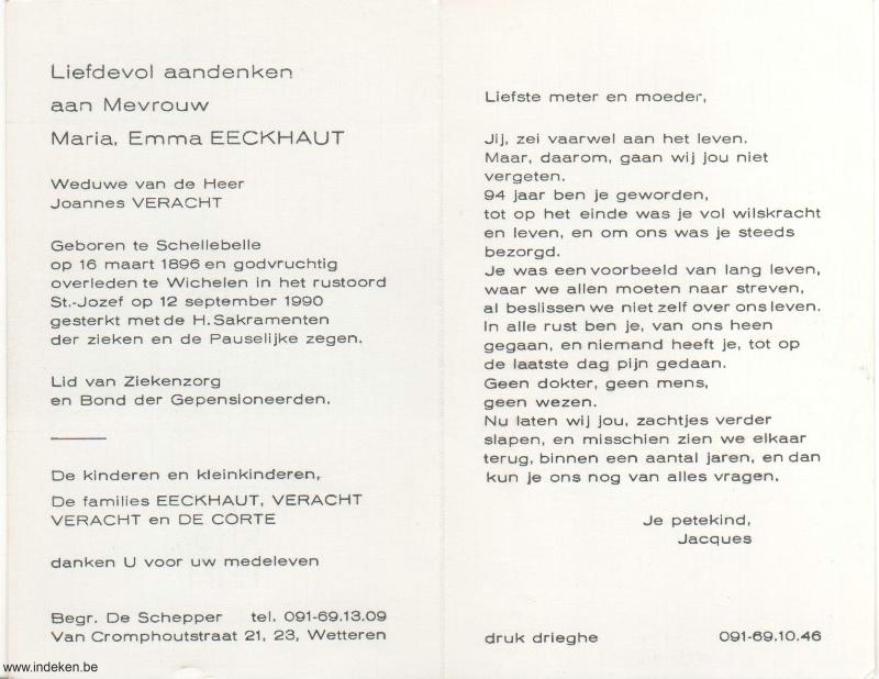 Maria Emma Eeckhaut