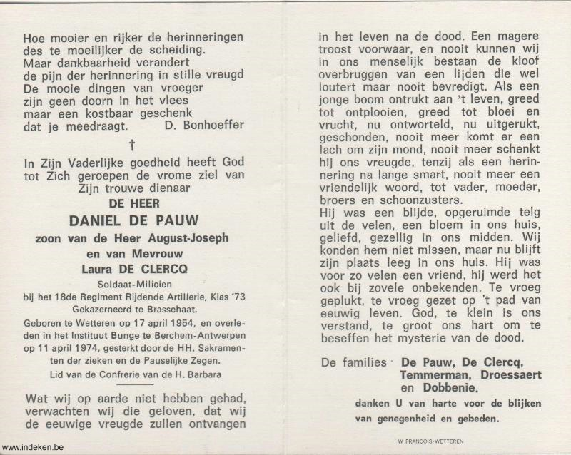 Daniel De Pauw