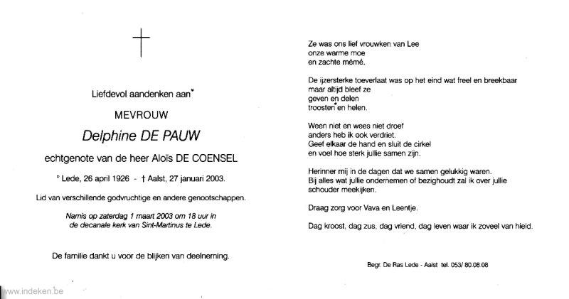 Delphine De Pauw