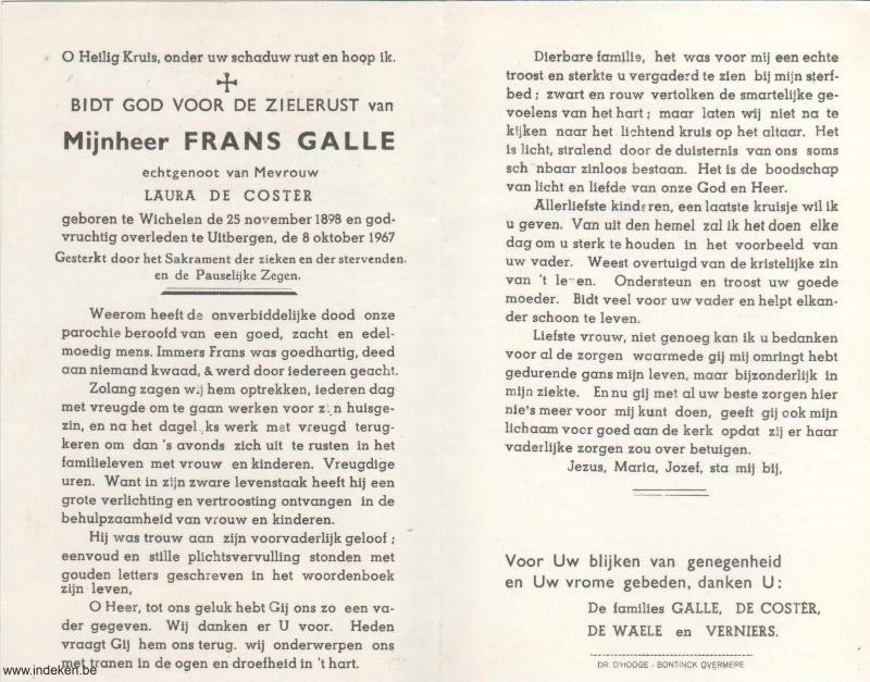 Frans Galle