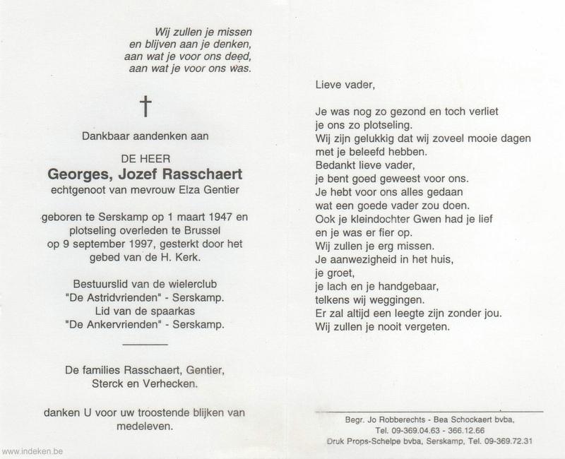 Georges Jozef Rasschaert