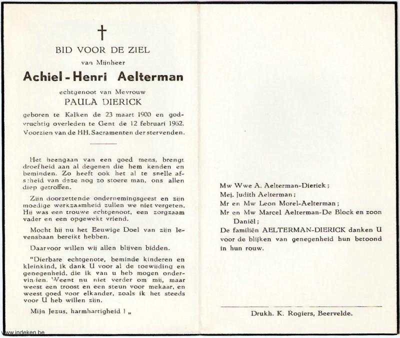 Achiel Henri Aelterman