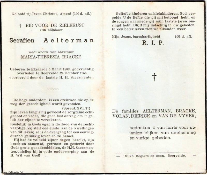 Serafien Aelterman