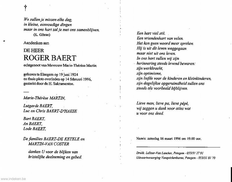 Roger Baert