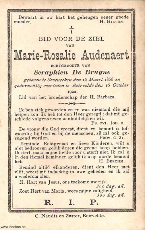 Marie Rosalie Audenaert