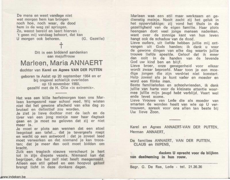 Marleen Maria Annaert