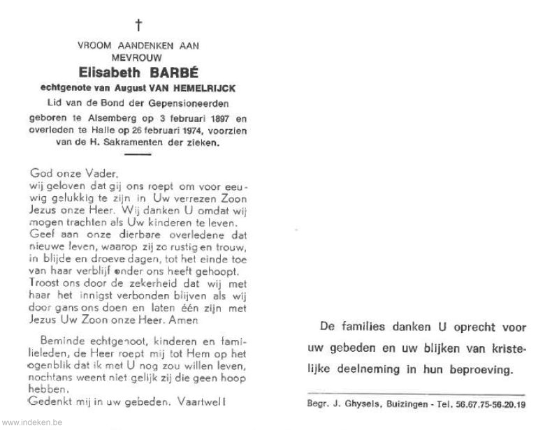 Elisabeth Barbé