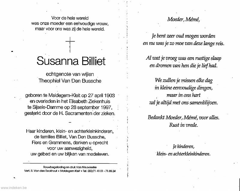 Suzanna Billiet