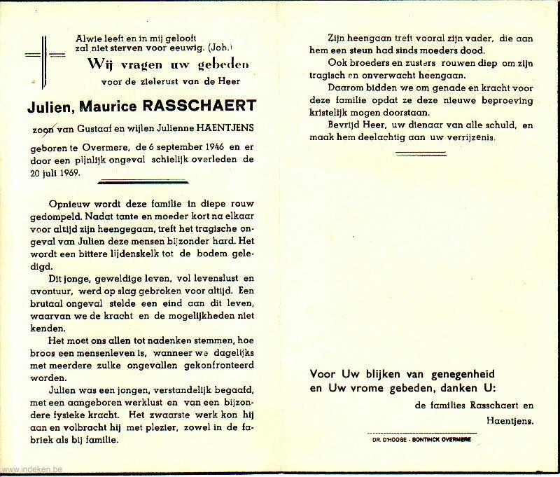 Julien Maurice Rasschaert