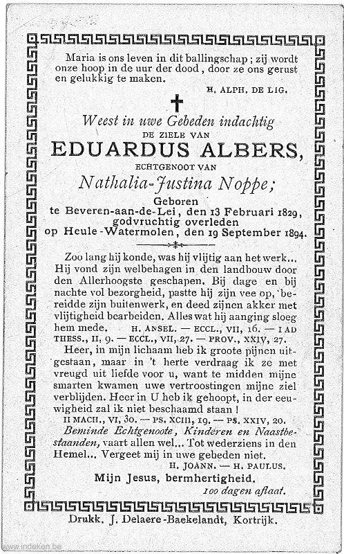Eduardus Albers