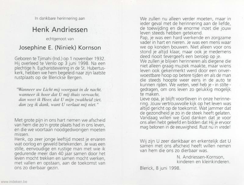 Henk Andriessen