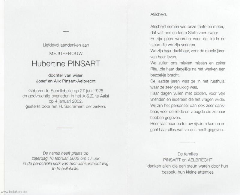 Hubertine Pinsart