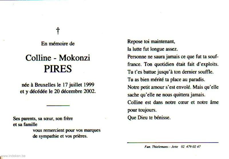 Coline Mokonzi Pires