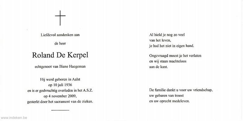 Roland De Kerpel