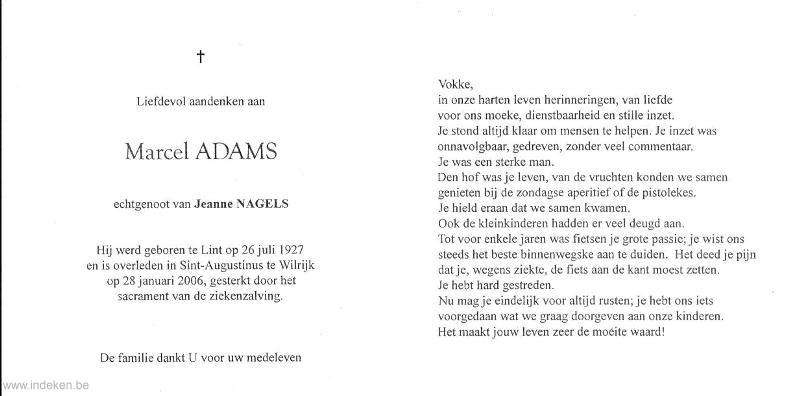 Marcel Adams