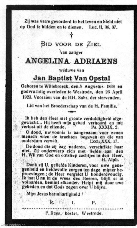 Angelina Adriaens